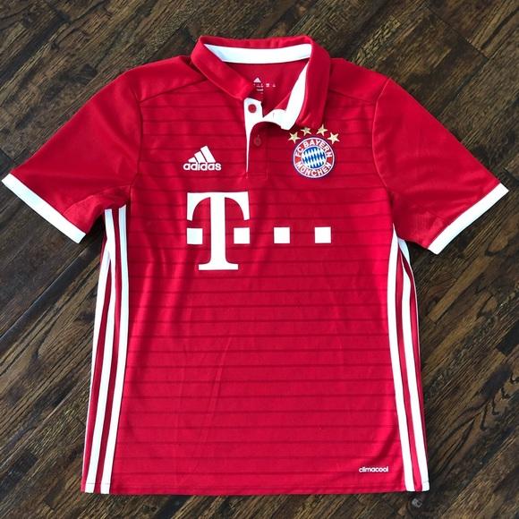 Adidas Bayern Munchen Munich Soccer Jersey Youth